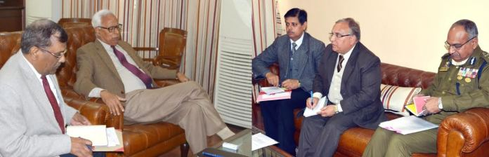 Governor with CS, DGP, HS