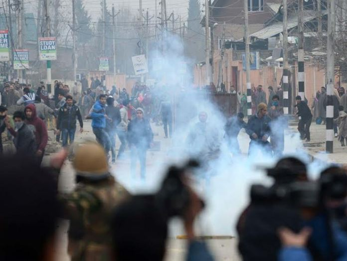 Hyderpora Protest 1