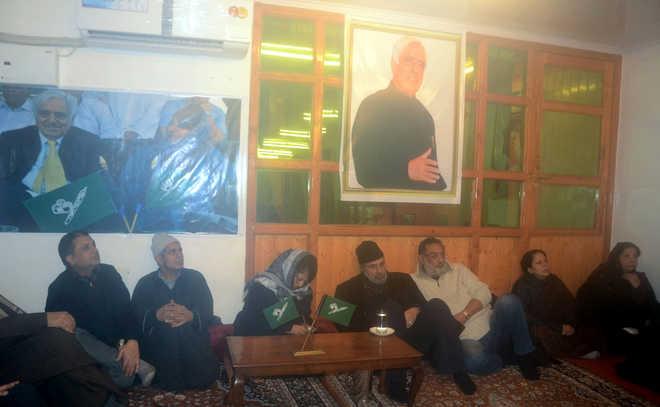 PDPMeeting in Srinagar on Sunday