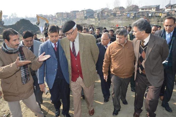 Vohra in Srinagar