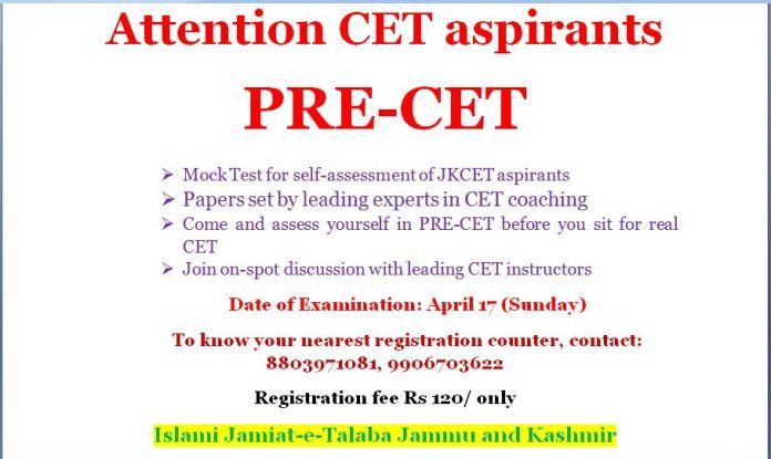 IJT Mock Test for CET Aspirants