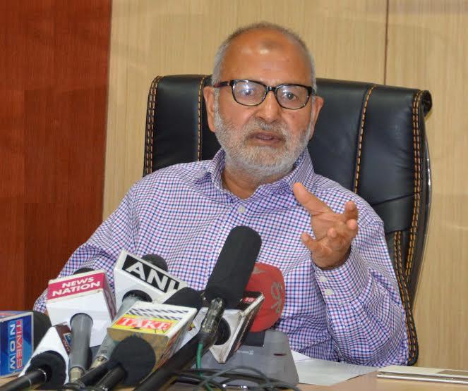 J&K Government Education Minister Naeem Akhtar
