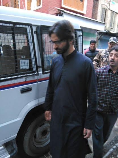 Yasin Malik Arrested on April 27, 2016
