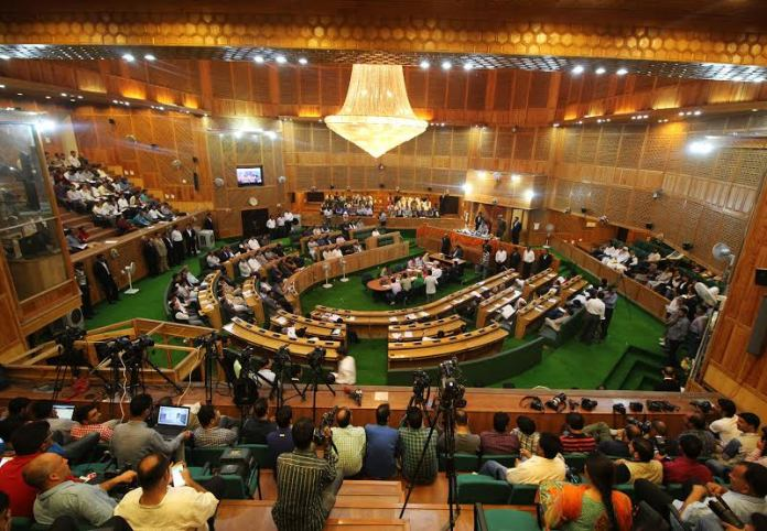 The proceedings of day second of 2016-17 budget session. (KL Image: Bilal Bahadur)