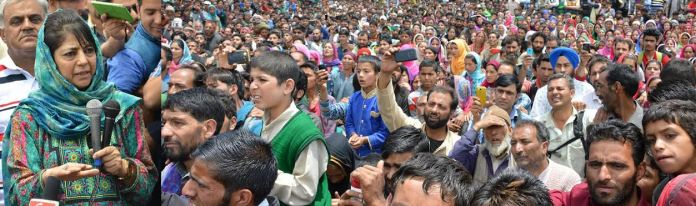 """CM Mehbooba Mufti inaugurated a three-day """"tourism festival"""" at Tosmaidan on Sunday."""