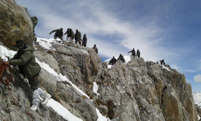 Chinar Corps Harmukh Expedition