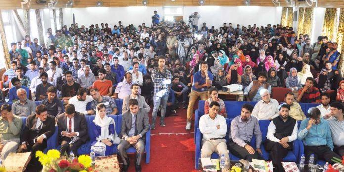 KU-Chanakya IAS Seminar at Hazratbal on May 31, 2016