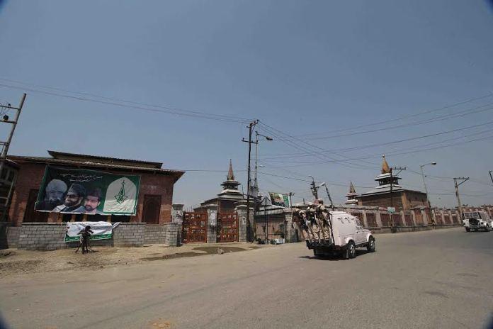 Curfewed Old Srinagar on May 21, 2016. (KL Image: Bilal Bahadur)