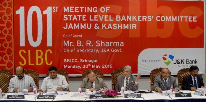 SLBC Meet on May 30, 2016
