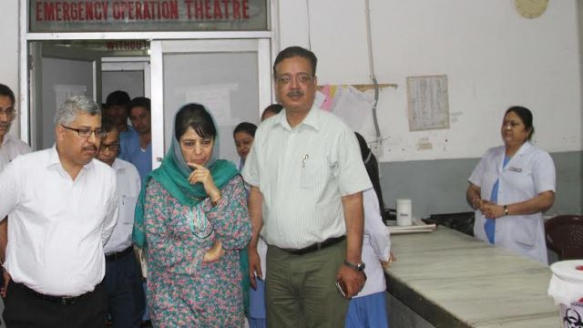 CM on surprise visit to Hospital
