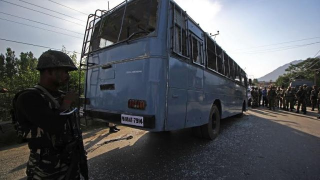 CRPF Attacked in Pampore