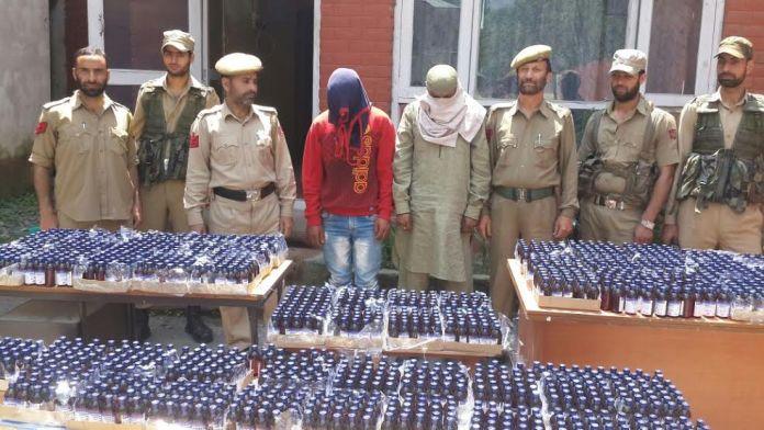 Codeine recovered in Ganderbal