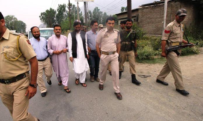 Yasin Malik detained at Pampore
