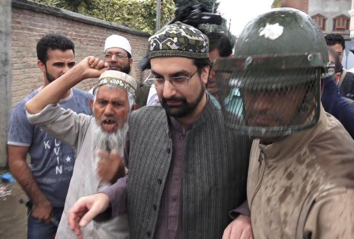 Mirwaiz Umar Arrested on way to Eidgah on Augsust 26, 2016