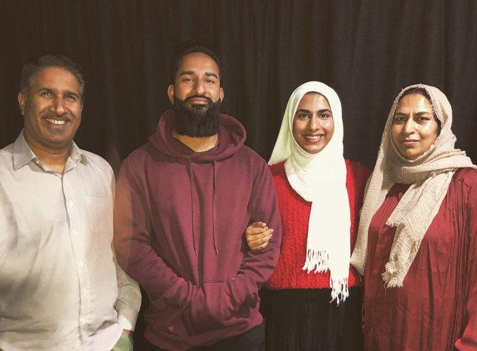 The Ganaie Family. New Zealand