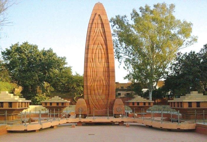 Jallianwala Bagh massacre memorial.