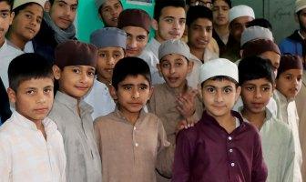 Kids of Darul Manan. KL Image: Bilal Bahadur