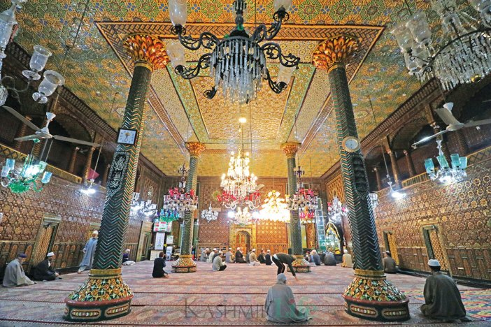 An inside view of Khanqah Moula. KL Image: Bilal Bahadur