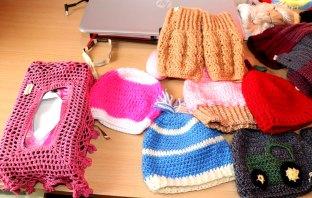 Croche work by Najam Qari