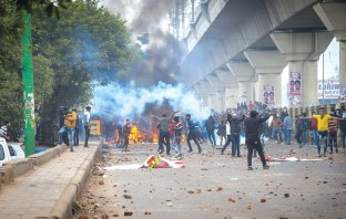 Clashes erupted in various parts of Delhi after centre passes Citizen Amendment Bill.