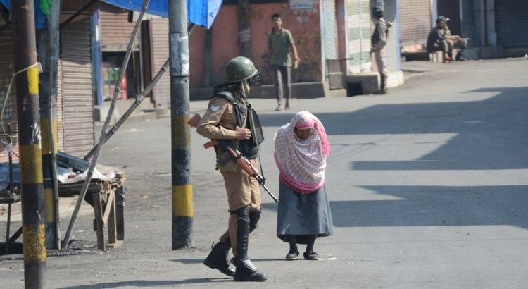IN PICTURES: Restrictions in parts of Srinagar following Lashkar commander's killing