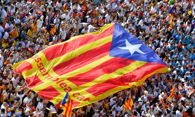 Million Catalans gather in Barcelona to demand independence from Spain: Report