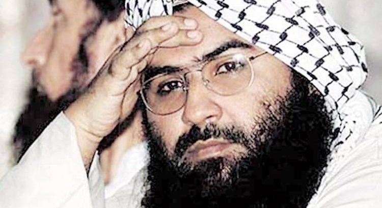 China to again block Indian bid to blacklist Masood Azhar