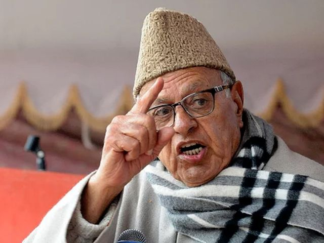 Occupied Kashmir belongs to Pakistan: Farooq Abdullah