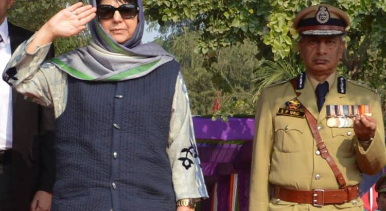 Mehbooba's 'humane approach' message was for Indian forces: BJP