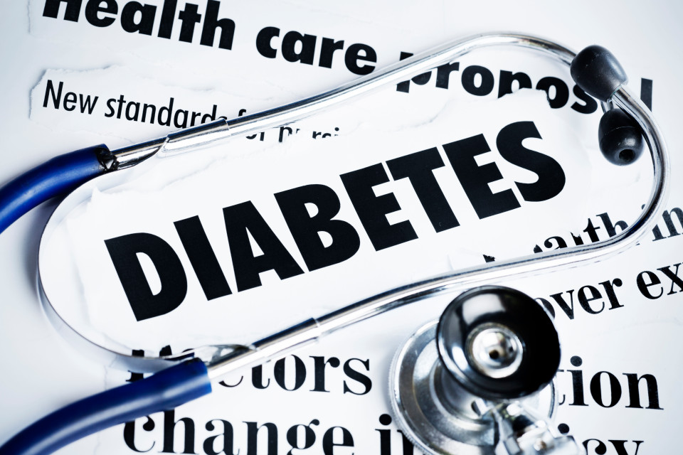 What are the five types of diabetes?