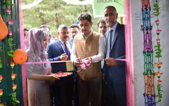 J&K Bank Inaugurates ATMs For Amarnath Yatris