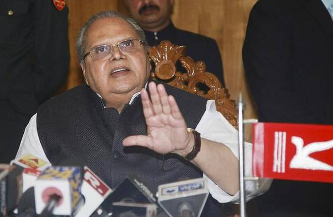 Neither Trifurcation Nor Article 35A Issue This Time: Governor