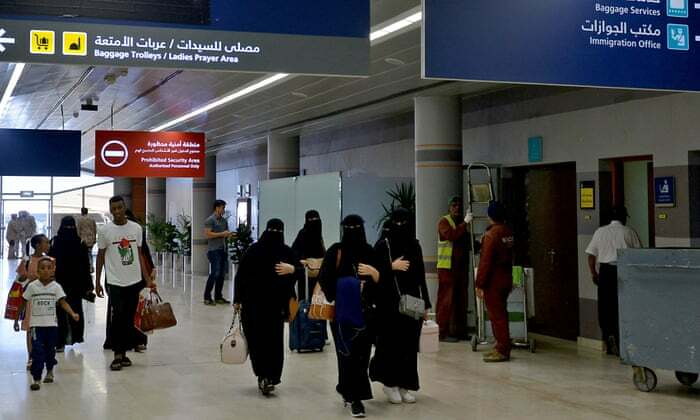 Saudi Allows Women To Travel Without Male 'Guardian' Approval