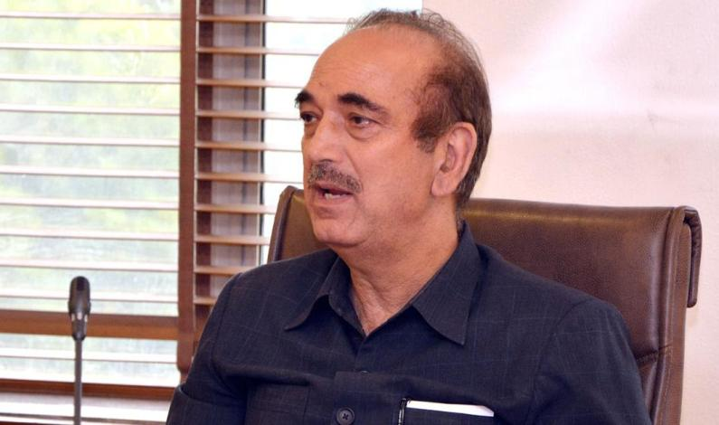 Kashmir Situation Will Not Change Till BJP Is In Power: Azad