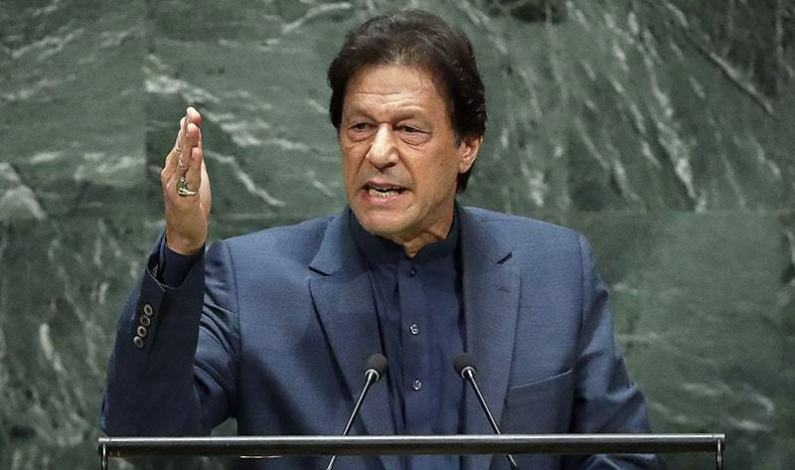 Imran At UN Calls For Urgent Action on Kashmir
