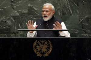 Modi At UN Urges Global Front Against Terror