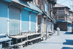 Shutdown In Several Areas After Posters Threatening Shopkeepers Appear