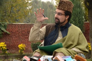 No Bond Signed by Mirwaiz: Hurriyat