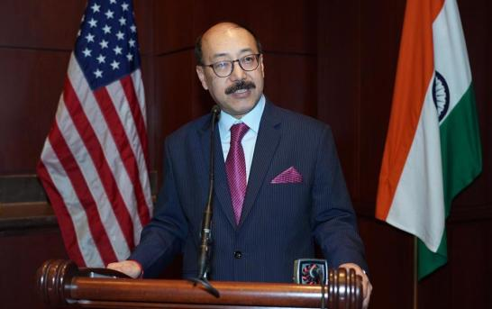 Indian Envoy Briefs US Lawmakers On Kashmir