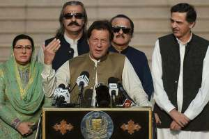 Modi Is Riding A Tiger: Imran Khan
