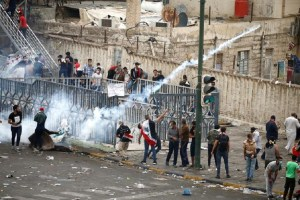 Dozens Killed As Fierce Anti-Govt Protests Sweep Iraq
