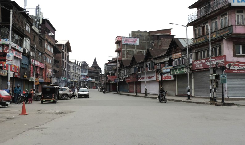 Shutdown Completes 100 Days In Kashmir