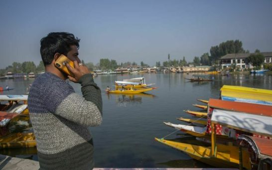 Postpaid Mobile Services Restored In Kashmir After 70 Days