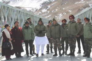 Rajnath Singh in Leh, Says Indian Forces to Maintain Pressure on Pak