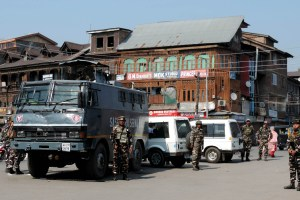 Security Beefed Up In Srinagar After Grenade Attack