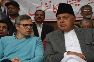15-Member NC Delegation Meets Abdullahs In Srinagar