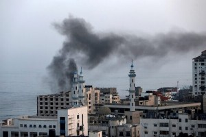 Israeli Forces Launch Massive Attack On Gaza