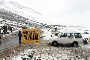 Mughal Road Closed Due To Snowfall