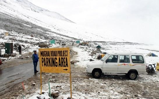 Mughal Road Closed Due To Snowfall