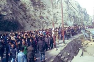 Black Day In Kargil, Strike Continues For The 3rd Day